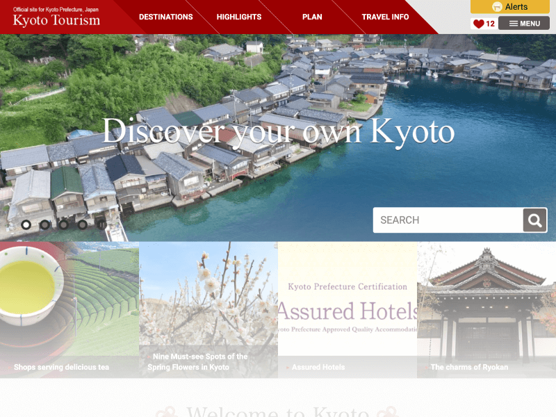 Official Site Kyoto Tourism