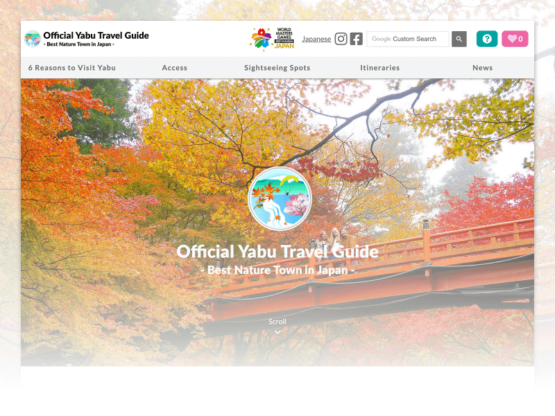 Official Yabu Travel Guide - Best Nature Town in Japan -